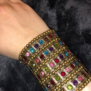 Multi Colored Gladiator Bracelet